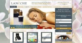 Lanéche Kozmetikai Webáruház